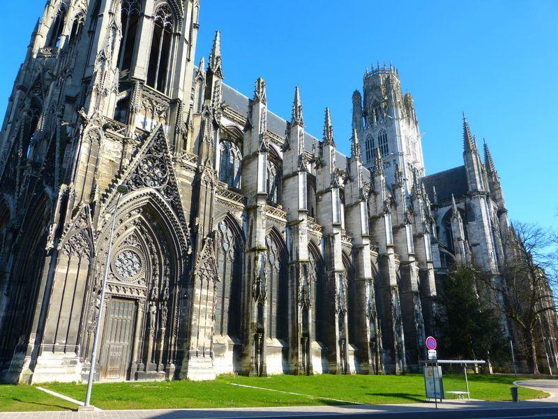 Mgr descubes veut il liquider l 39 abbatiale de rouen riposte catholique - Agence saint ouen rouen ...