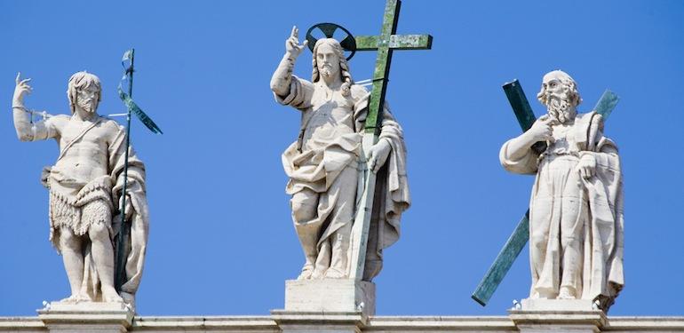 Statues, Saint Peter's Basilica, Vatican City